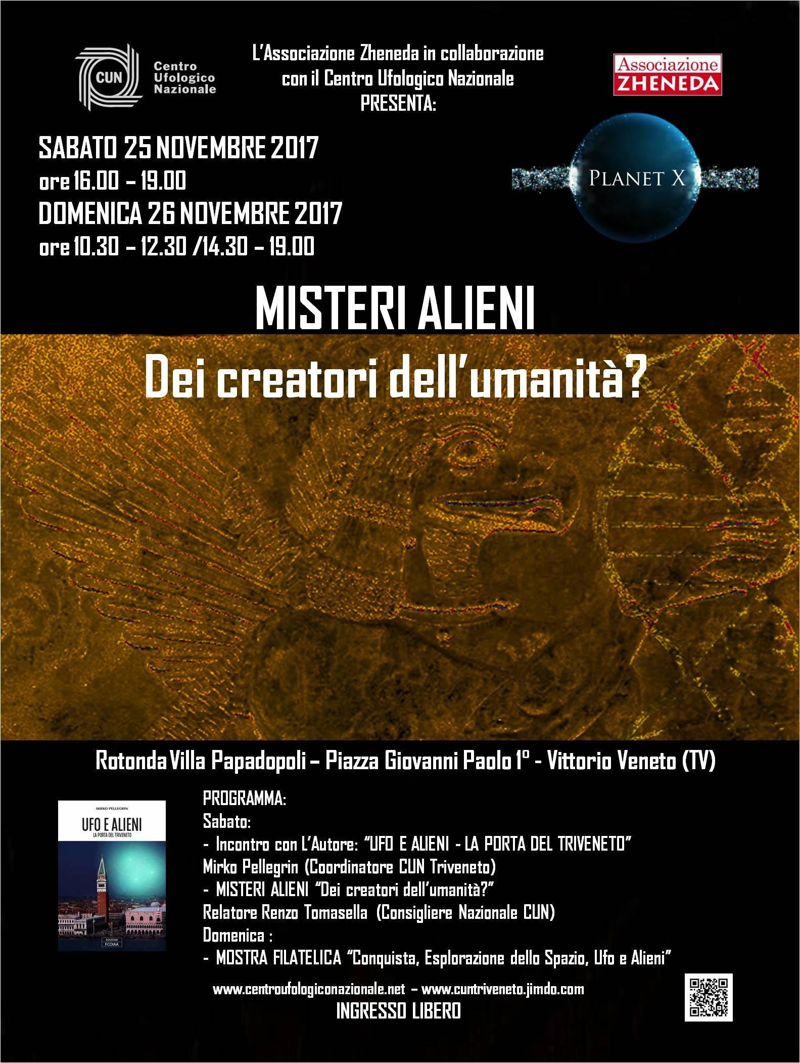 Prossimi convegni CUN 25 e 26 novembre a Vittorio