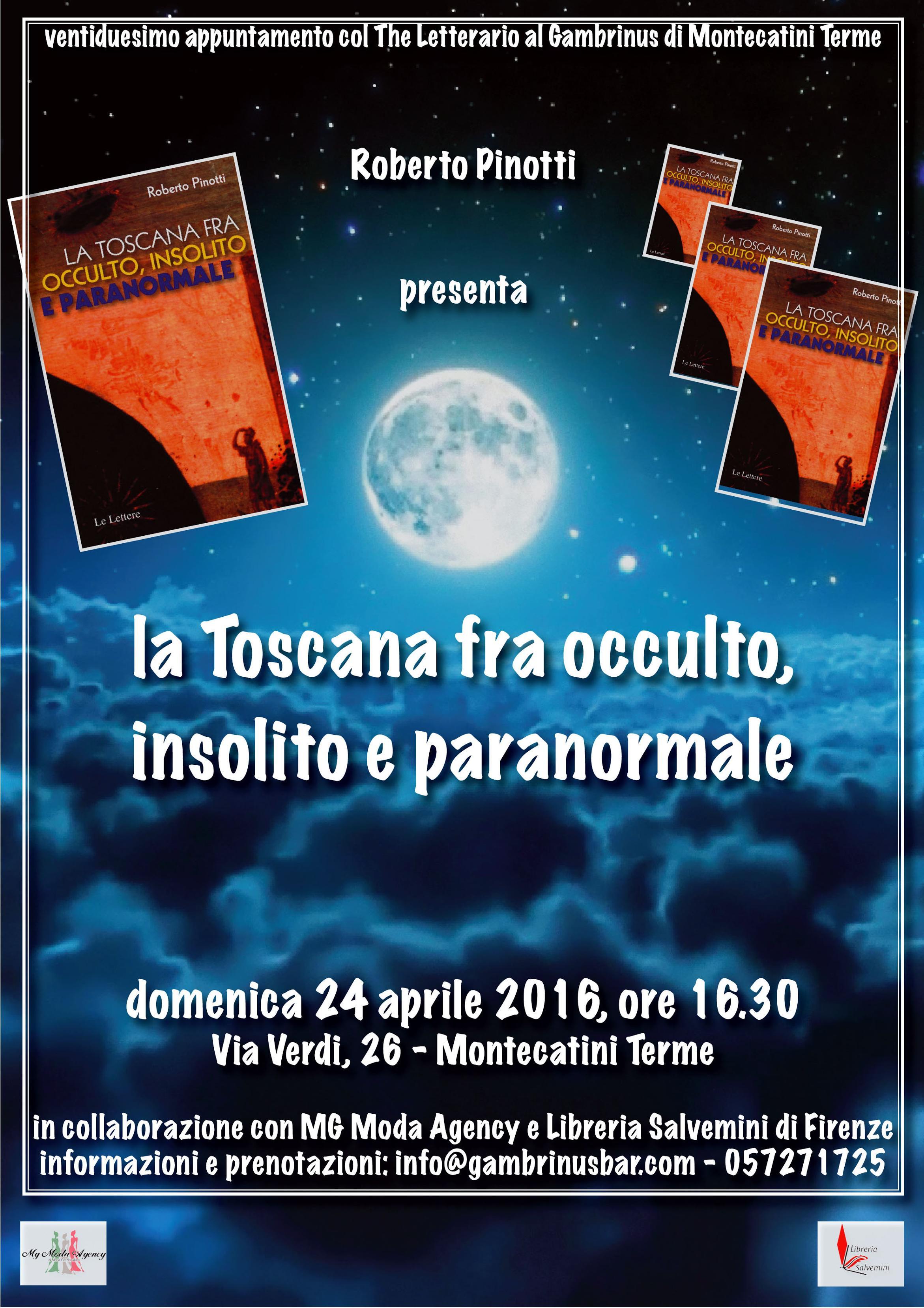 Conferenze CUN Presentazione libri e incontro con Roberto Pinotti il 23 aprile presso la libreria il Forte a Forte dei Marmi e il